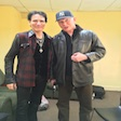 Steve Vai and Joe Jackson BOTH are Dots favorite people. She LOVES these folks.