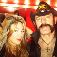 Dr. Dot and Lemmy from Motörhead
