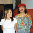 Carlos Santana and Dr. Dot