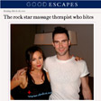 The rock star massage therapist who bites