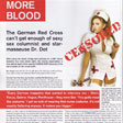 More Blood: The Red Cross vs. Dr. Dot