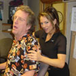 Massaging Rock 102FM's Bax